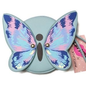 NWT Betsey Johnson Luv Betsey Butterfly Coin Purse